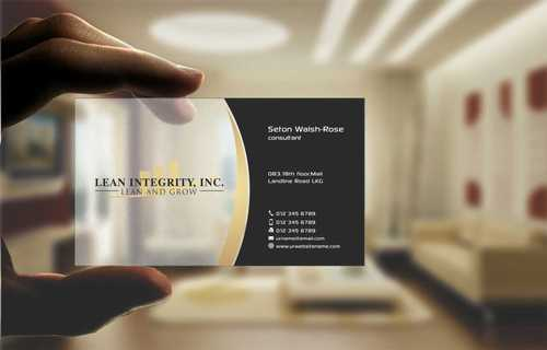 Lean Integrity BC Business Cards and Stationery  Draft # 192 by Dawson