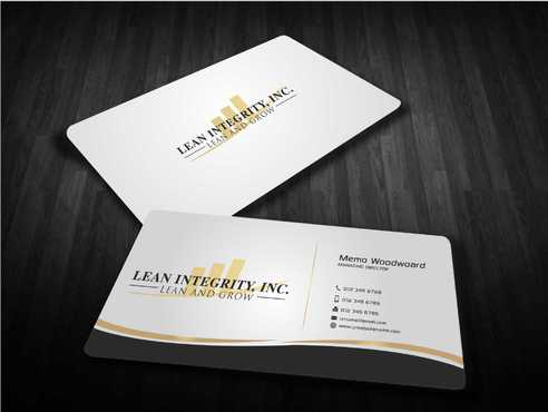 Lean Integrity BC Business Cards and Stationery  Draft # 194 by Dawson