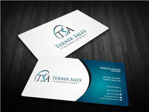 TSA Business Card Business Cards and Stationery  Draft # 168 by Dawson