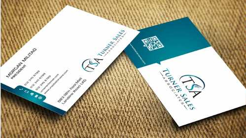 TSA Business Card Business Cards and Stationery  Draft # 172 by Dawson