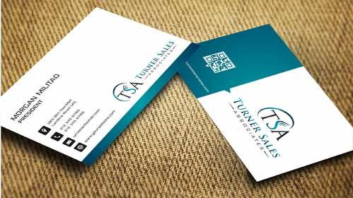 TSA Business Card Business Cards and Stationery  Draft # 173 by Dawson
