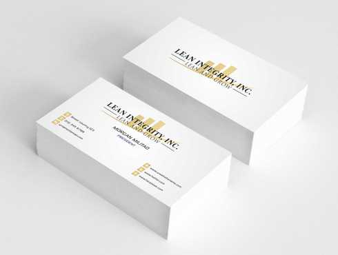 Lean Integrity BC Business Cards and Stationery  Draft # 200 by Dawson
