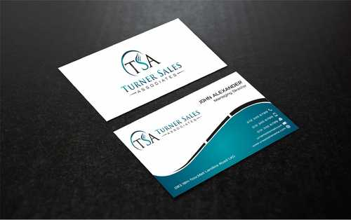 TSA Business Card Business Cards and Stationery  Draft # 176 by Dawson
