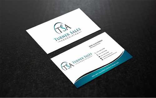 TSA Business Card Business Cards and Stationery  Draft # 177 by Dawson