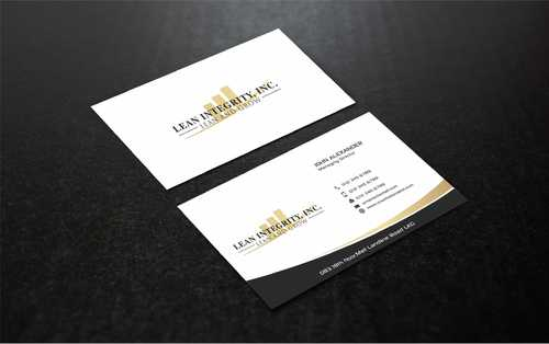 Lean Integrity BC Business Cards and Stationery  Draft # 202 by Dawson