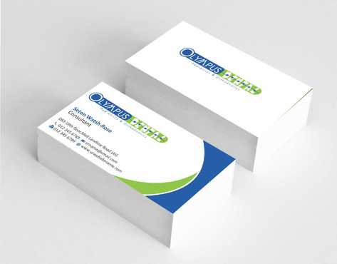 Olympus Dental  Business Cards and Stationery  Draft # 132 by Dawson