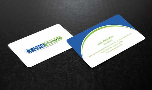 Olympus Dental  Business Cards and Stationery  Draft # 134 by Dawson