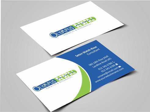 Olympus Dental  Business Cards and Stationery  Draft # 137 by Dawson
