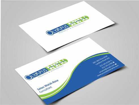 Olympus Dental  Business Cards and Stationery  Draft # 138 by Dawson