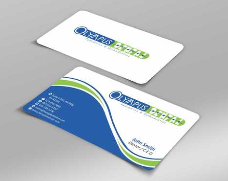 Olympus Dental  Business Cards and Stationery  Draft # 140 by Dawson