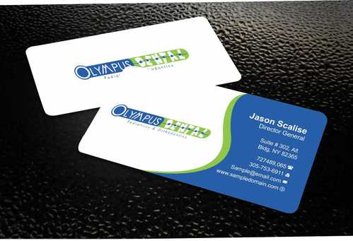 Olympus Dental  Business Cards and Stationery  Draft # 141 by Dawson