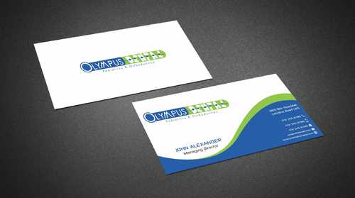 Olympus Dental  Business Cards and Stationery  Draft # 142 by Dawson