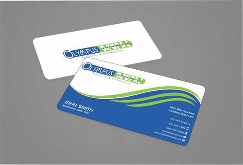 Olympus Dental  Business Cards and Stationery  Draft # 145 by Dawson