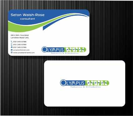 Olympus Dental  Business Cards and Stationery  Draft # 147 by Dawson