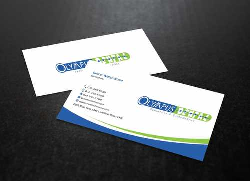 Olympus Dental  Business Cards and Stationery  Draft # 148 by Dawson