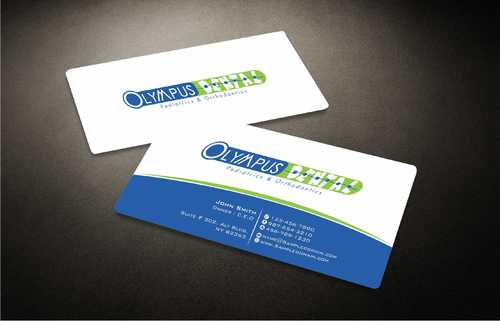 Olympus Dental  Business Cards and Stationery  Draft # 149 by Dawson
