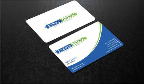 Olympus Dental  Business Cards and Stationery  Draft # 150 by Dawson