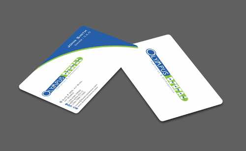 Olympus Dental  Business Cards and Stationery  Draft # 151 by Dawson