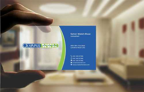 Olympus Dental  Business Cards and Stationery  Draft # 152 by Dawson