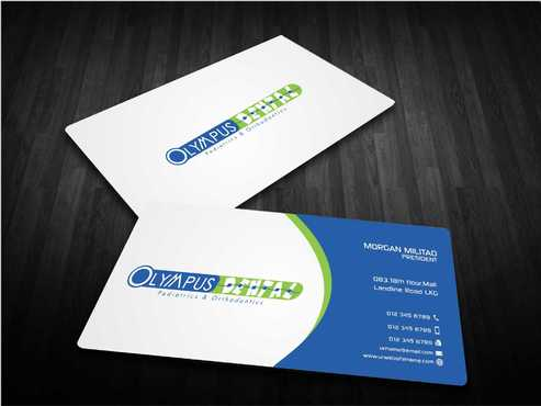 Olympus Dental  Business Cards and Stationery  Draft # 159 by Dawson