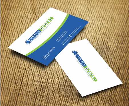 Olympus Dental  Business Cards and Stationery  Draft # 161 by Dawson