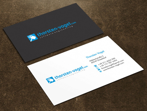 thorsten-vogel.com Business Cards and Stationery  Draft # 1 by Xpert