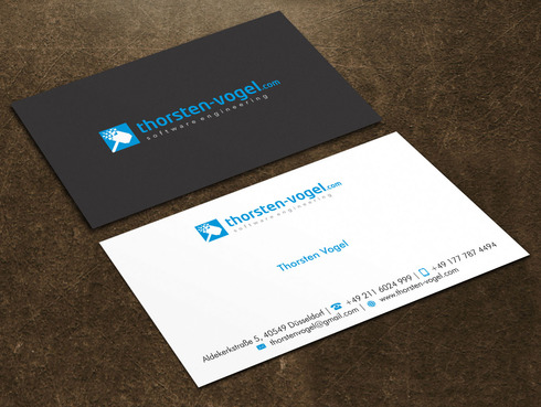 thorsten-vogel.com Business Cards and Stationery  Draft # 2 by Xpert