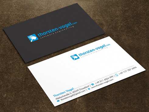 thorsten-vogel.com Business Cards and Stationery  Draft # 4 by Xpert