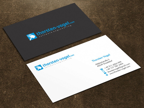 thorsten-vogel.com Business Cards and Stationery  Draft # 3 by Xpert