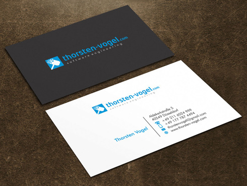 thorsten-vogel.com Business Cards and Stationery  Draft # 5 by Xpert