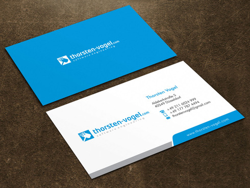 thorsten-vogel.com Business Cards and Stationery  Draft # 11 by Xpert