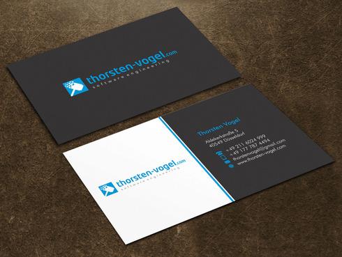 thorsten-vogel.com Business Cards and Stationery  Draft # 15 by Xpert