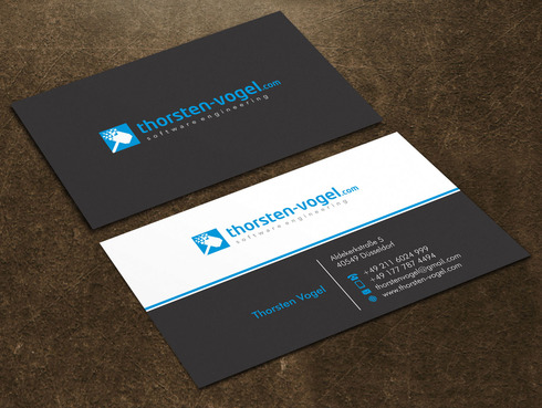 thorsten-vogel.com Business Cards and Stationery  Draft # 17 by Xpert