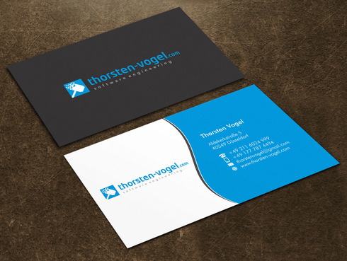 thorsten-vogel.com Business Cards and Stationery  Draft # 18 by Xpert