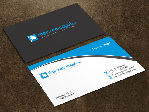 thorsten-vogel.com Business Cards and Stationery  Draft # 19 by Xpert