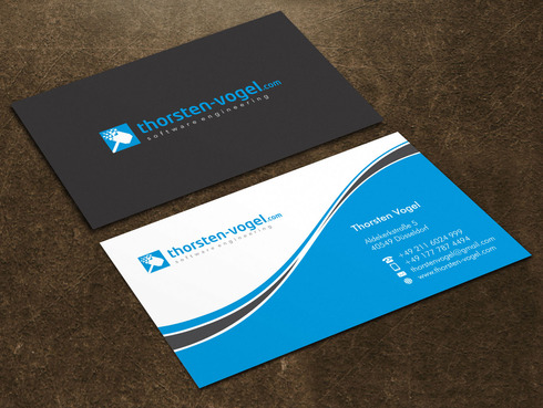 thorsten-vogel.com Business Cards and Stationery  Draft # 20 by Xpert