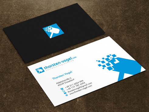 thorsten-vogel.com Business Cards and Stationery  Draft # 23 by Xpert