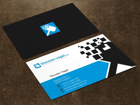thorsten-vogel.com Business Cards and Stationery  Draft # 22 by Xpert