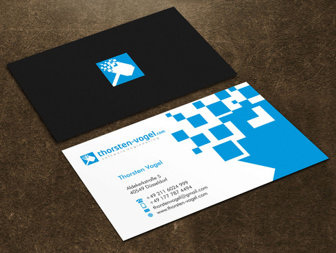 thorsten-vogel.com Business Cards and Stationery  Draft # 24 by Xpert