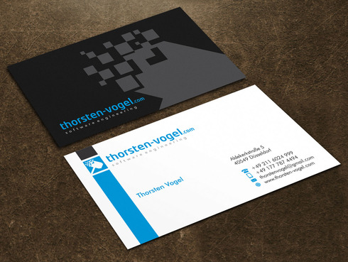 thorsten-vogel.com Business Cards and Stationery  Draft # 25 by Xpert