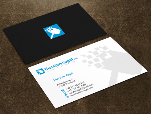 thorsten-vogel.com Business Cards and Stationery  Draft # 26 by Xpert