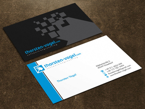 thorsten-vogel.com Business Cards and Stationery  Draft # 27 by Xpert
