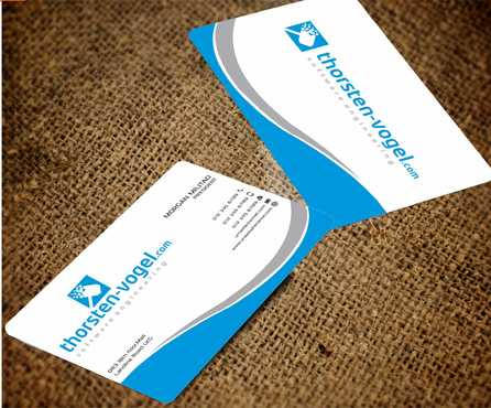 thorsten-vogel.com Business Cards and Stationery  Draft # 291 by Dawson