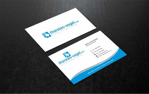 thorsten-vogel.com Business Cards and Stationery  Draft # 293 by Dawson
