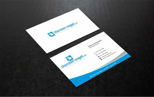 thorsten-vogel.com Business Cards and Stationery  Draft # 294 by Dawson