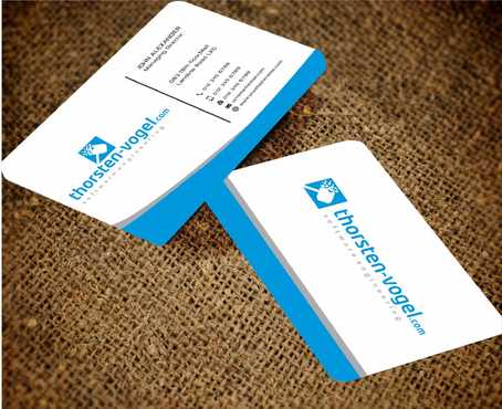 thorsten-vogel.com Business Cards and Stationery  Draft # 295 by Dawson