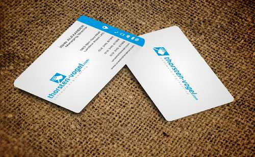 thorsten-vogel.com Business Cards and Stationery  Draft # 298 by Dawson