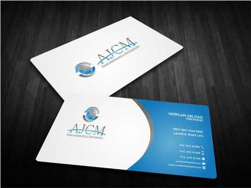 ...............AJCM- Empreendimentos e Participações.......... Business Cards and Stationery  Draft # 82 by Dawson