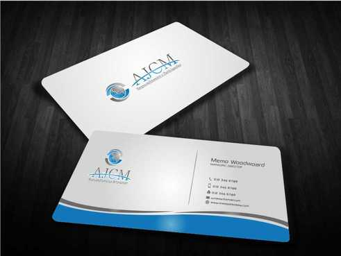 ...............AJCM- Empreendimentos e Participações.......... Business Cards and Stationery  Draft # 86 by Dawson