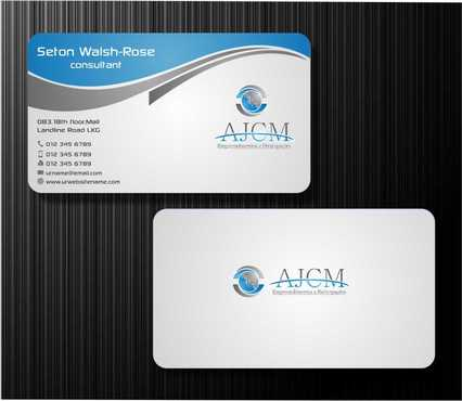 ...............AJCM- Empreendimentos e Participações.......... Business Cards and Stationery  Draft # 92 by Dawson